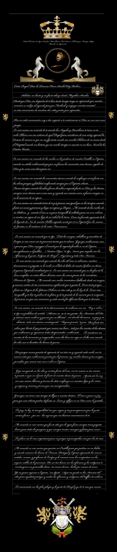 Todas las Instituciones de Dios so importantes Hevis debes tratar de leer todas que puedes poco poquito y mantenerte feliz siempre renovando tu Matrimonio - Príncipe Adagio
