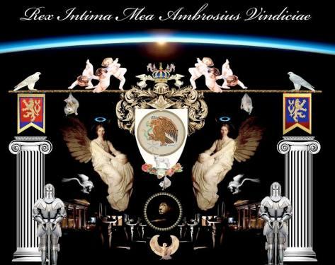 Divine Protection Coat of Arms Prince Jose Maria Chavira - Adagio I