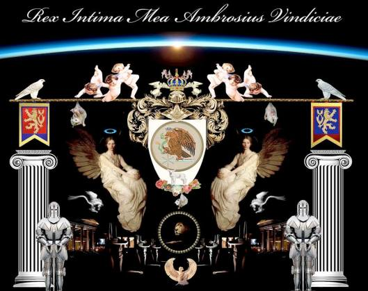 Divine Protection Coat of Arms Prince Jose Maria Chavira - Adagio I
