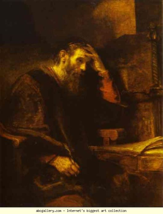 Paul The Apostle by Rembrandt187