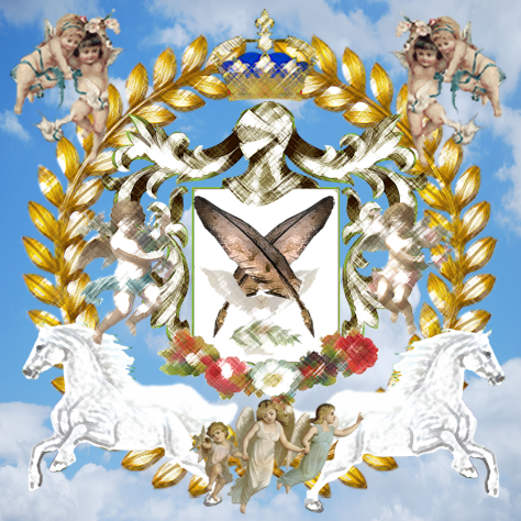 7 La Pluma de Eternidad Caballero Celestial 3 querubines