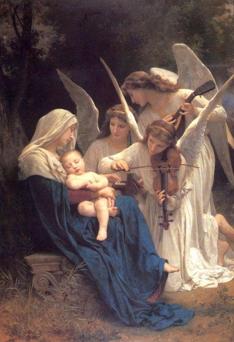La Pluma de Eternidad William Adolphe Bouguereau 3