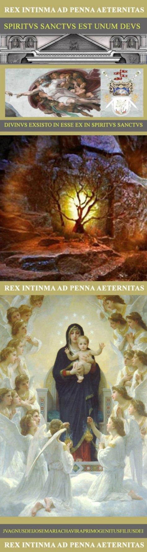 La Pluma De Eternidad - La Totalidad del Dios la Santísima Glorioso y Misterioso  Trinidad y el Misterioso Padre y Misterioso y la Virgencita-II