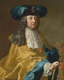 INTERPOL case file picture Francis I Holy Roman Emperor 1735 -1765 Painting Martin van Meytensn