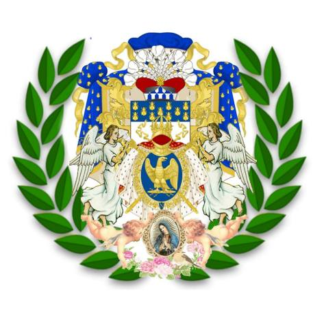 Agape Amourus Sanctus Eternus - Van Heemstra coat of Arms of her Royal Highness Son Altesse Royal Edda van Heemstra Audrey Kathleen Hepburn Ruston 1st -