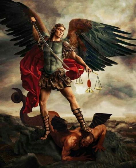 Saint Michael and Arcangel of peace and of Independence